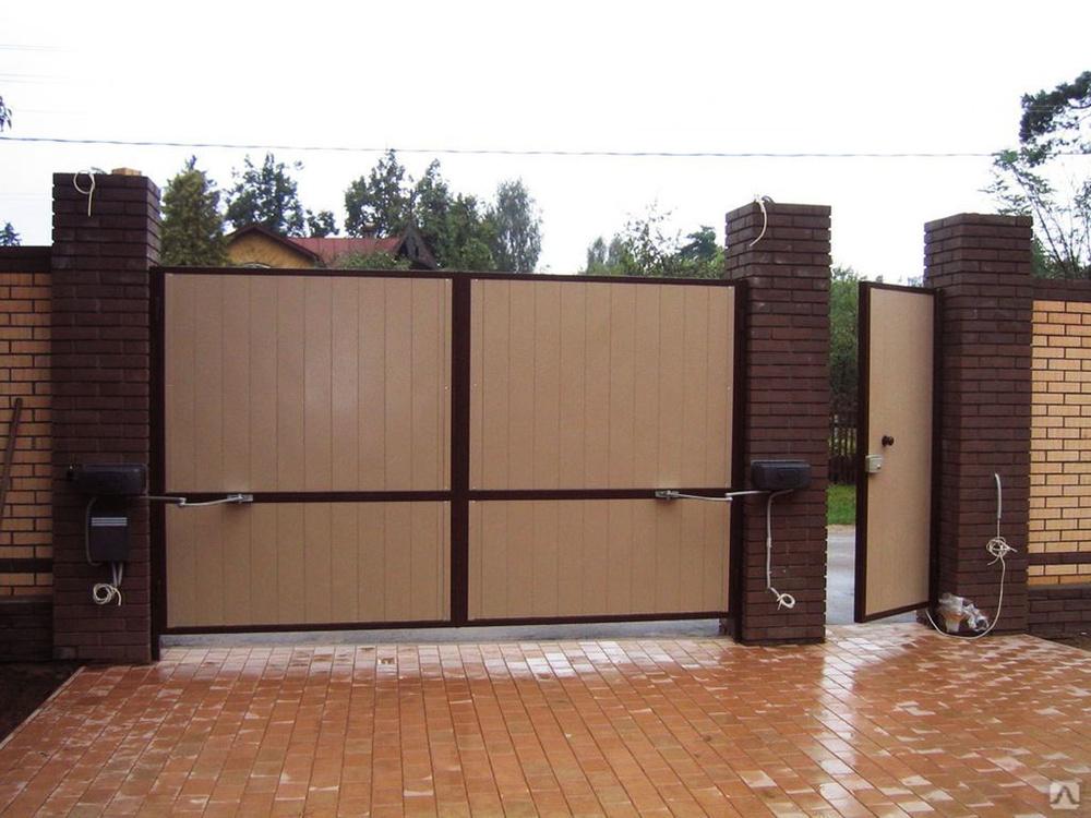 автоматические ворота алютех цены в димитровграде